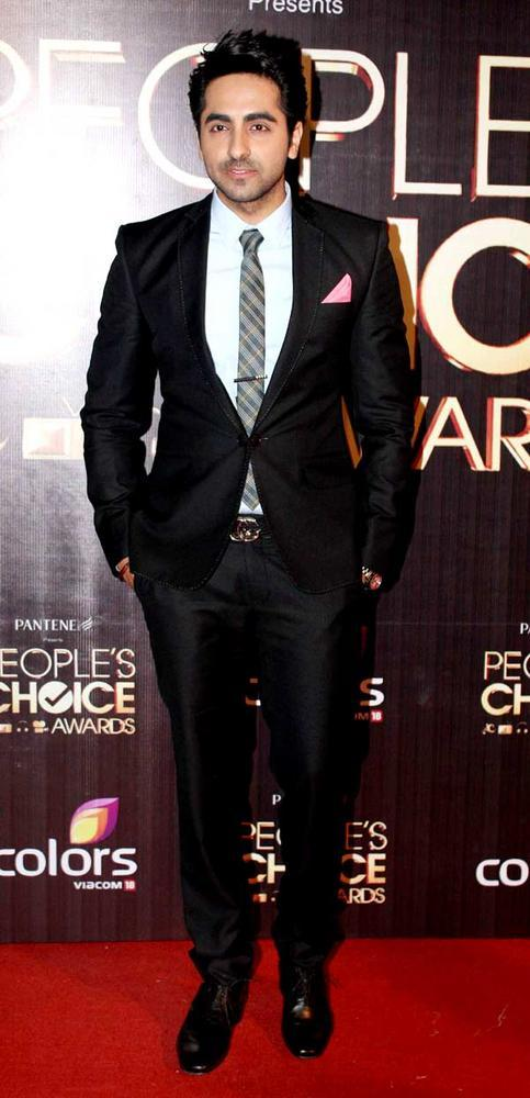 Ayushmann Khurana During The Award Function Of The People's Choice