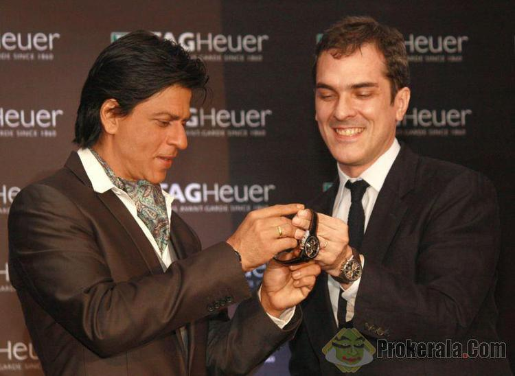 Shahrukh Khan At Tag Heuer New Watch Launch Event