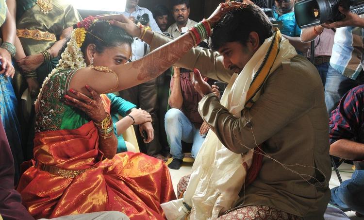 Nani And Anjana Wedding Pic