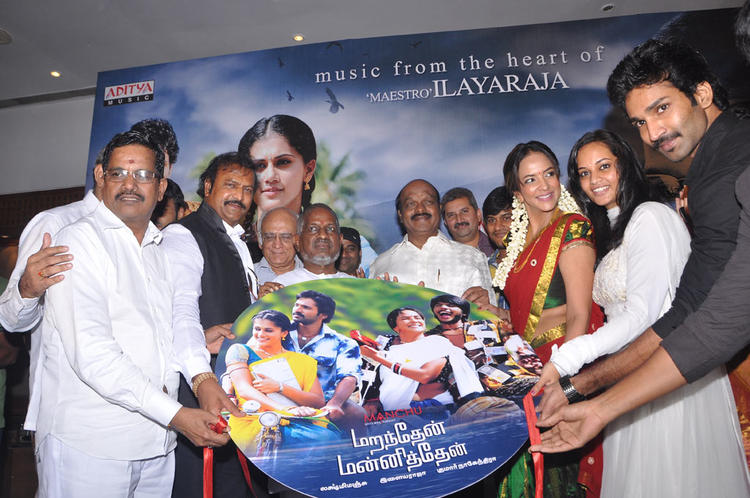 Celebs At Maranthen Mannithen Movie Audio Launch