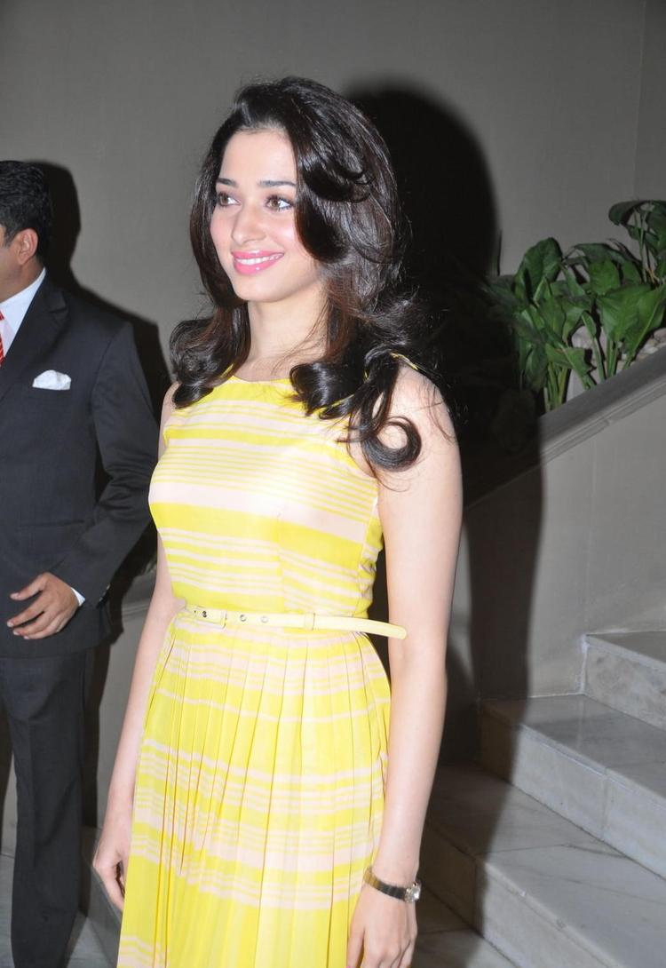 Tamanna Smiling Still At Taj Banjara Hotel Hyderabad