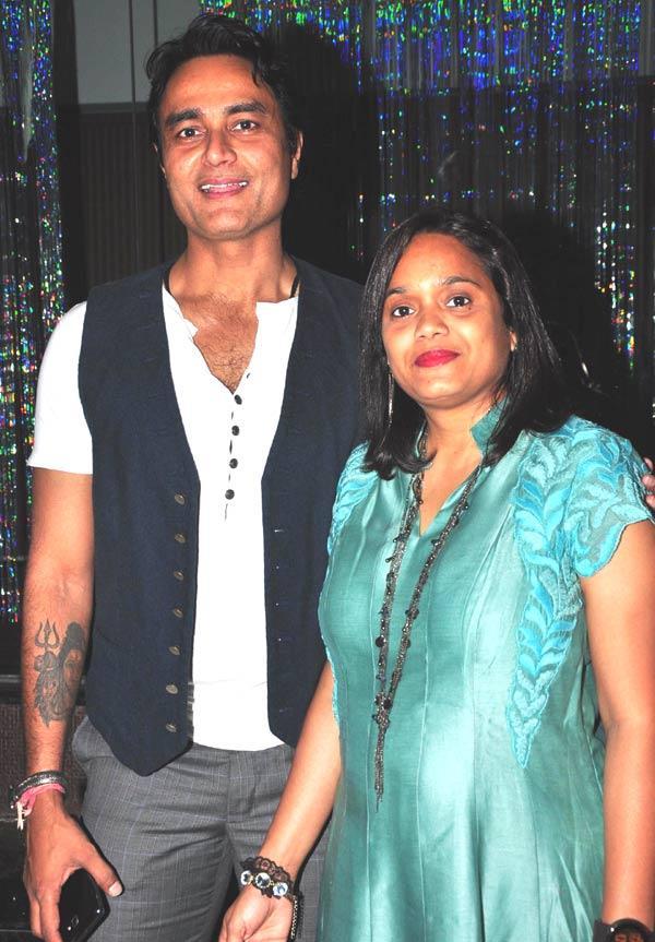 Sumeet And Shashi Attend The Success Bash Of Gurmeet Choudhary