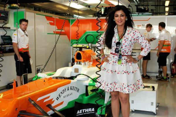 Chitrangda Photo Clicked In Abu Dhabi Grand Prix