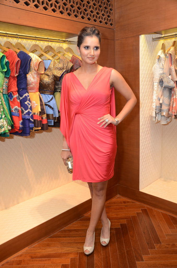 Sania Mirza Launches Shantanu And Nikhil Designer Store