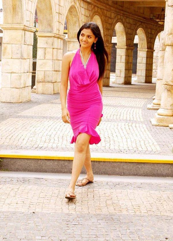 Sunaina In Pink Dress Gorgeous Look Still