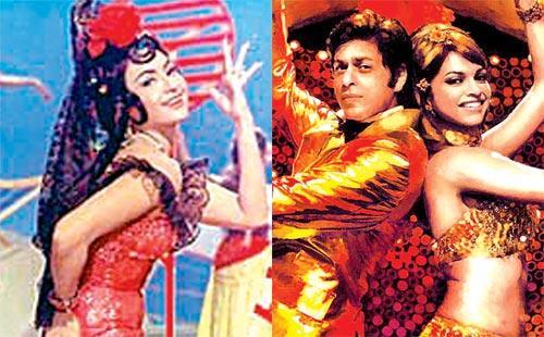 Deepika And SRK Hot Item Dancing Still