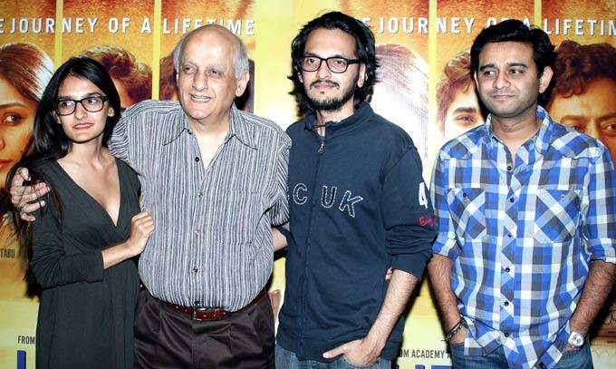 Mukesh Bhatt At The Premiere Of Life Of Pi