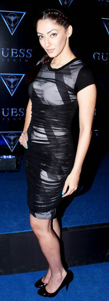 A Telly Star Sexy Look Photo Clicked At A Fashionable Night