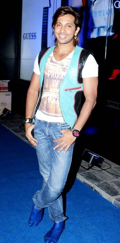 Terence Lewis The Choreographer Attends The Fashionable Night