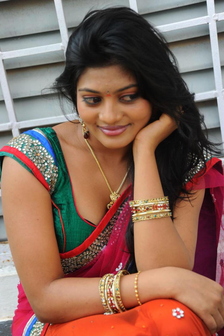 Soumya Nice Look Pic At Chowrasta Movie Launch