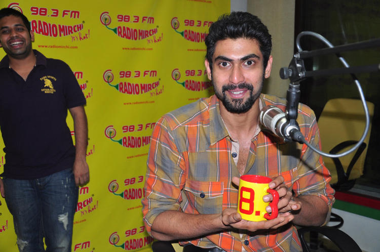 Rana Clicked At Radio Mirchi During The Promotion Of KVJ