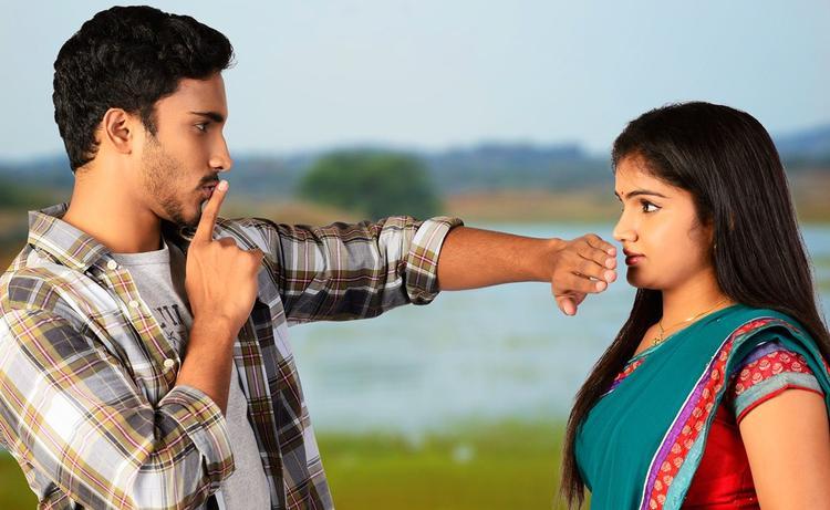 Geethanandh And Hasini Nice Scene From Telisi Teliyaka Movie