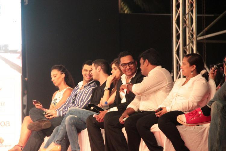 Audience Enjoy The Show At India Resort Fashion Week 2012