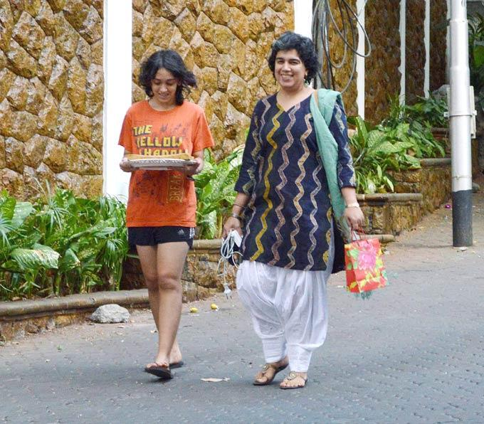 Reena With Daughter Ira Attend At Aamir Khan Son Azad First Birthday
