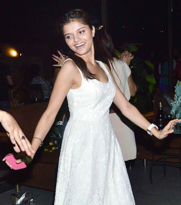 Smiling Rubina Dilaik Rocked At Pragati Mehra Birthday Bash