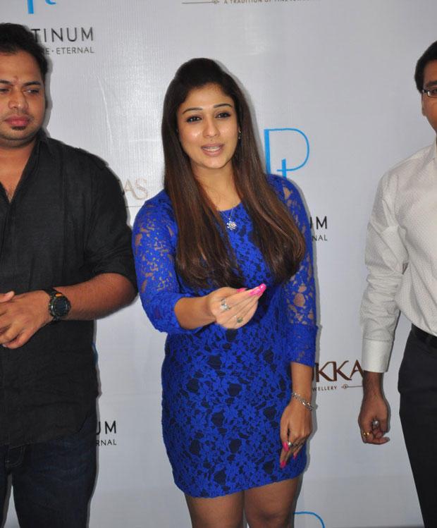 Charming Actress Nayanthara At Jos Alukkas New Collection Launch