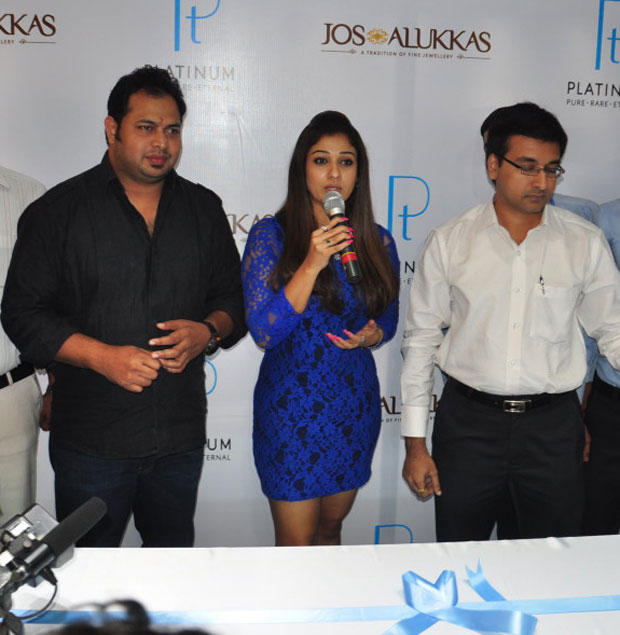 Nayanthara Speaks Still At Jos Alukkas New Collection Launch