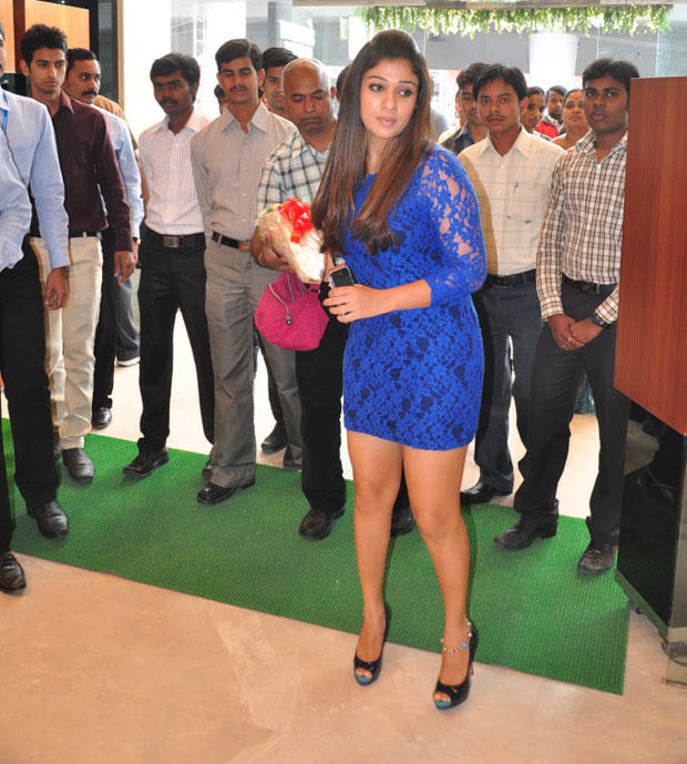 Nayanthara Spotted At Jos Alukkas New Collection Launch