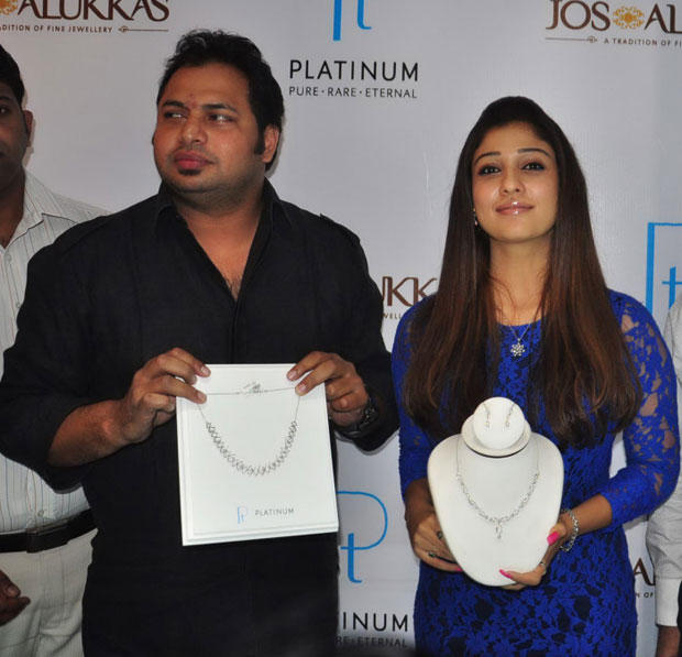 Nayanthara Unveils At Jos Alukkas New Collection Launch
