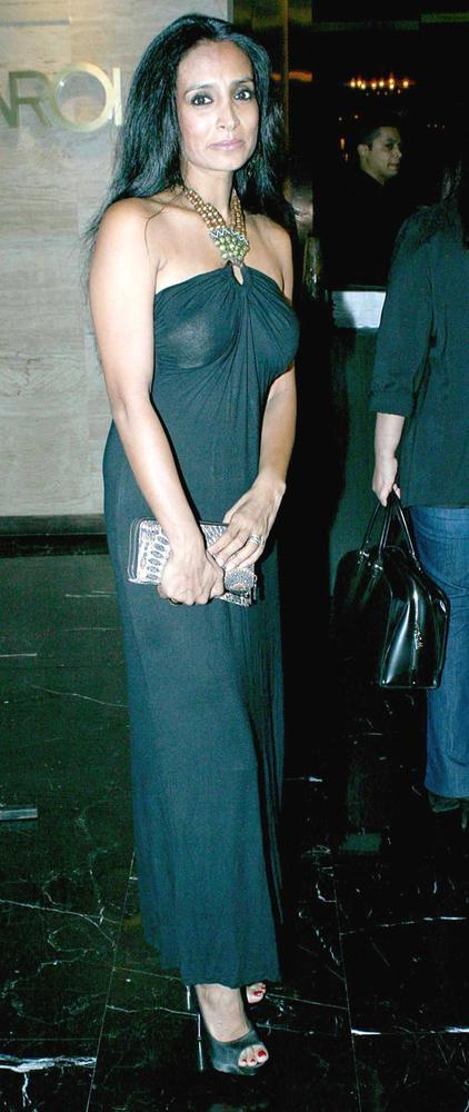 Suchitra Pillai At The Harper's Bazaar Bash