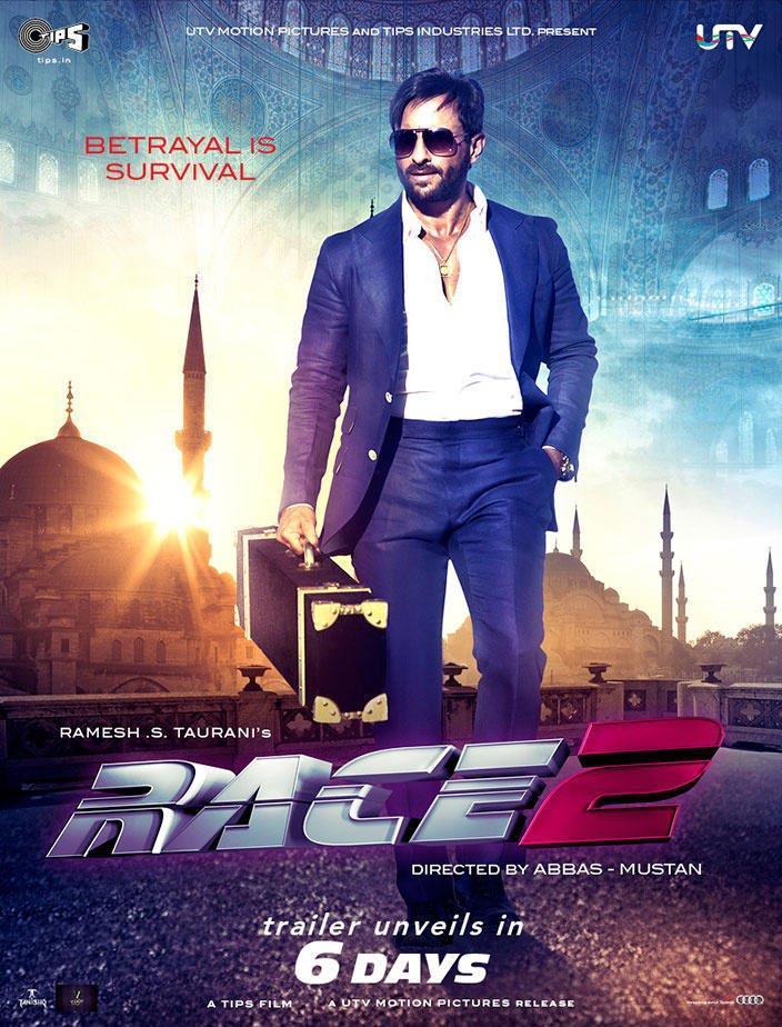 Saif Ali Khan Rocking Style Photo On Race 2 Wallpaper