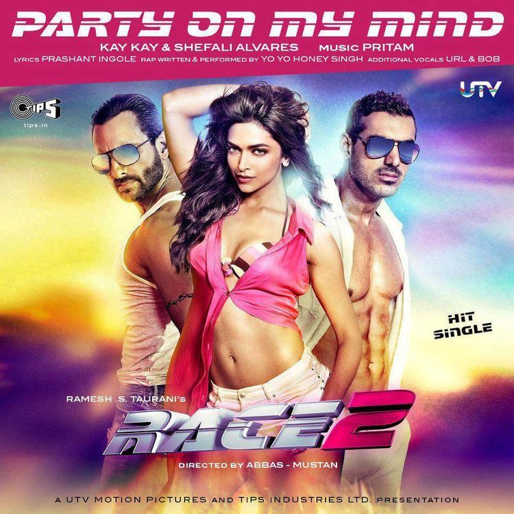 Saif,Deepika And John Race 2 Party On My Mind Song Wallpaper