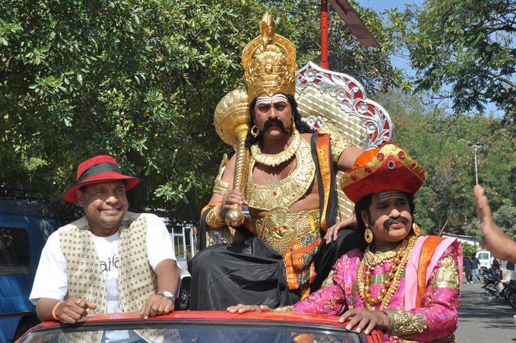 Vinod Kumar Starrer Yamudu Vastunnadu Movie Opening Still