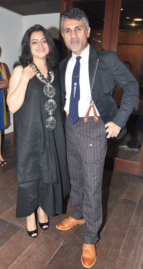 Shefali With Hubby Arjun Attend The Ensemble Silver Jubilee Bash