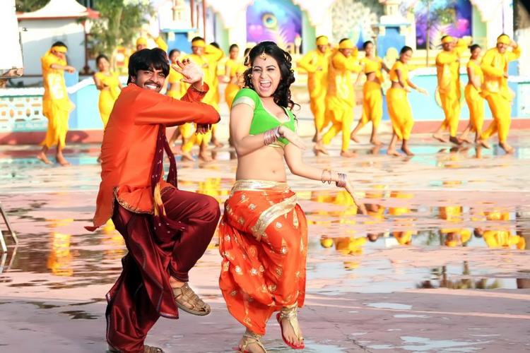 Srinivas And Aksha Latest Dancing Still From Rye Rye Movie