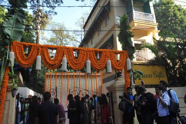 A Still Of Bandra Mandap Where Vidya Balan And Siddharth Roy Kapur Wedding Ceremony Occured