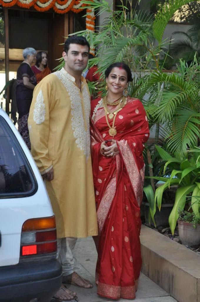 Vidya And Siddharth After Wedding Ceremony Photo