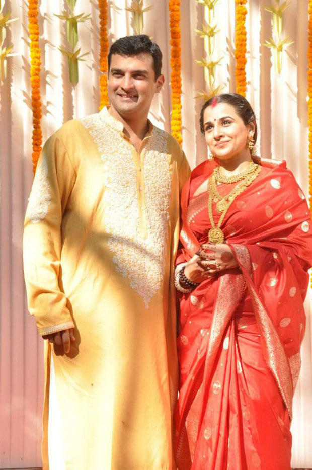 Vidya And Siddharth Clicked At Their Wedding Ceremony