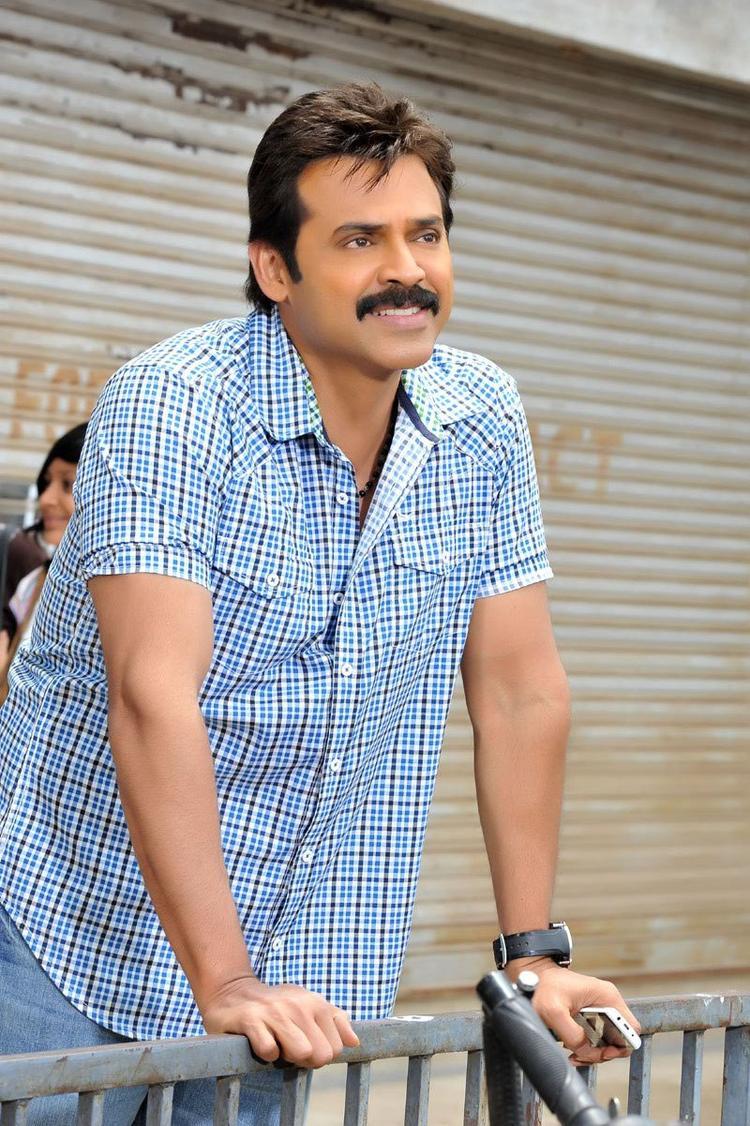 Venkatesh Dashing Look Photo From Telugu Movie SVSC