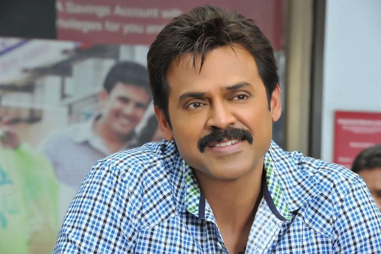 Venkatesh Photo Clicked From Telugu Movie SVSC