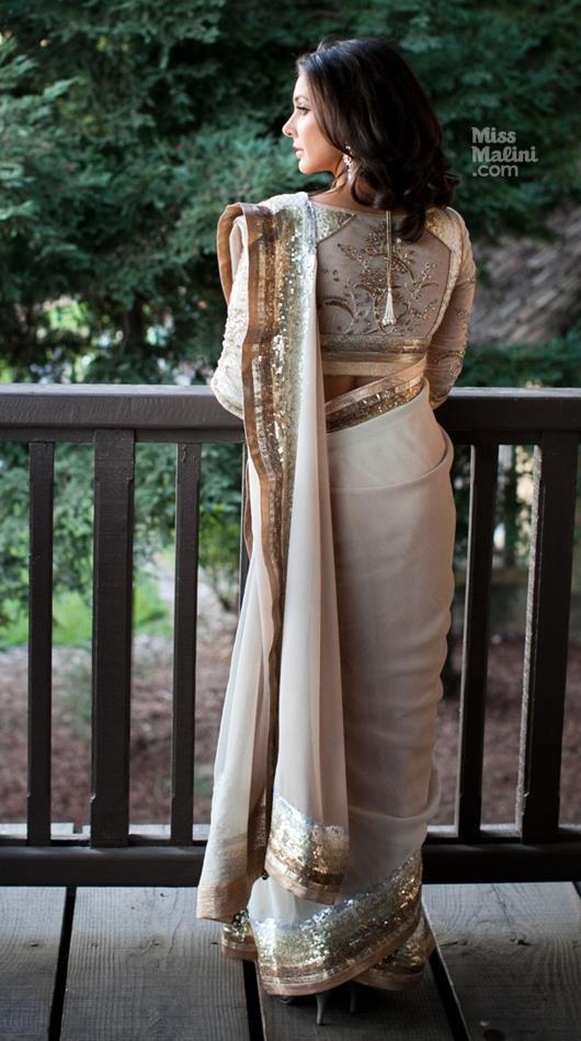 Lisa Ray Looked Ravishing In A Satya Paul Wedding Saree