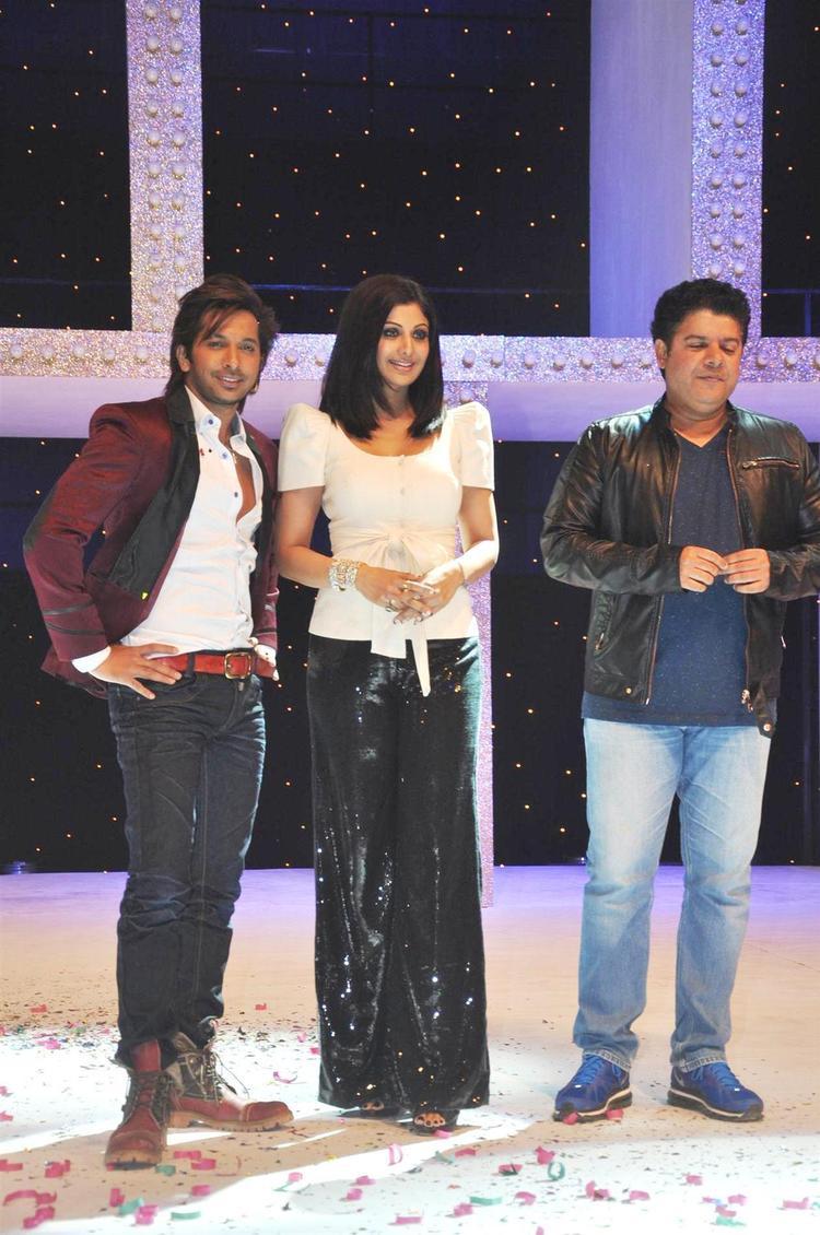 Shilpa,Sajid And Terence Clicked At Nach Baliye Season 5 Launch Event