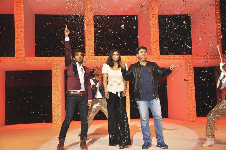 Shilpa,Sajid And Terence At The Nach Baliye Launch Event