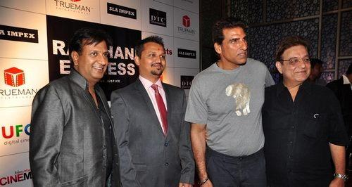 Mukesh,Keval And Others Clicked At The First Look Launch Of Rajdhani Express