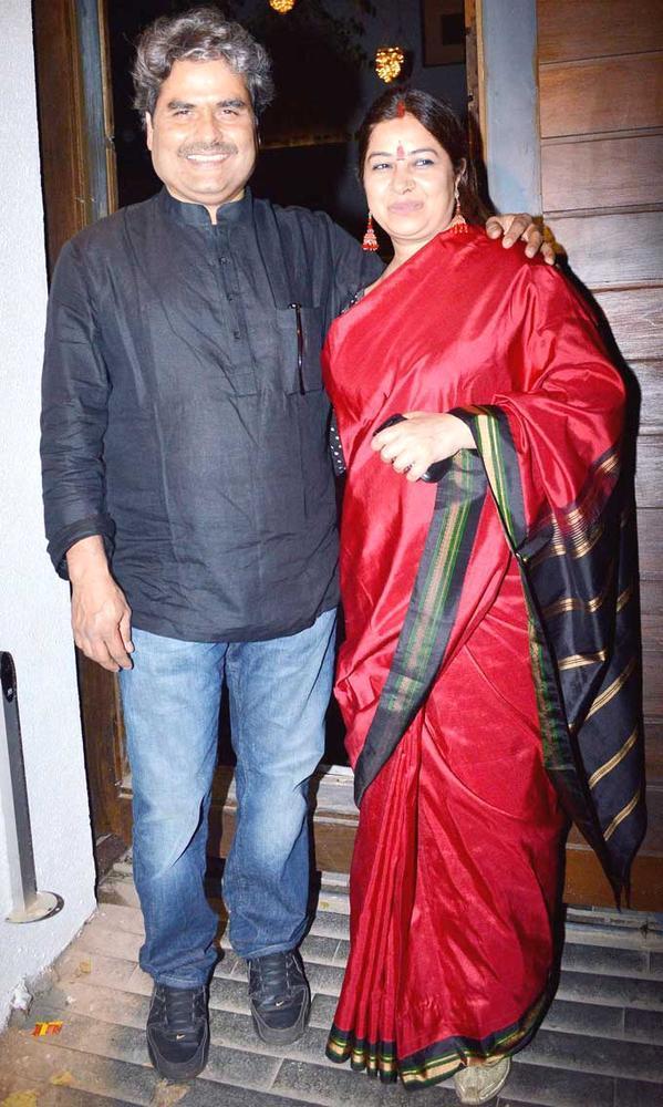 Vishal With Wife Rekha Attend Imran Khans Housewarming Party