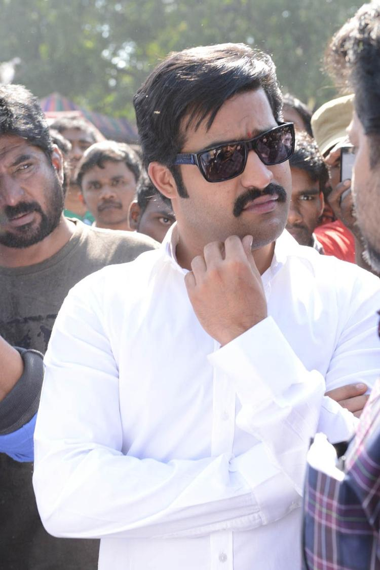 Jr NTR Cute Look Photo At Aadi New Movie Launch Event