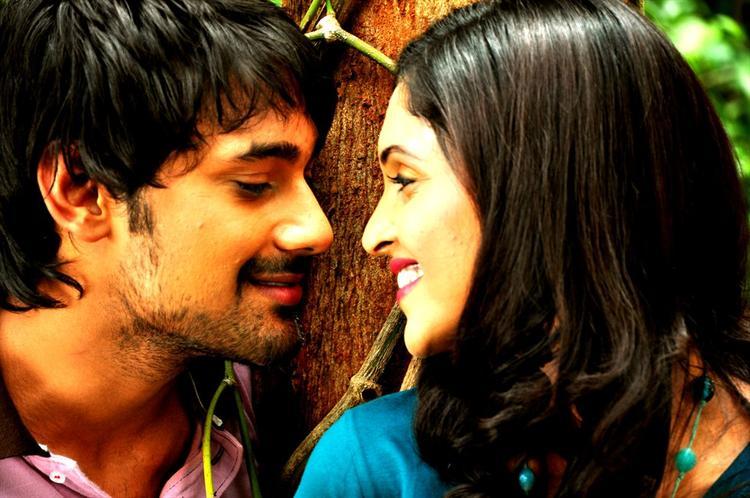 Varun And Sanchita Romance Scene Photo From Movie Chammak Challo