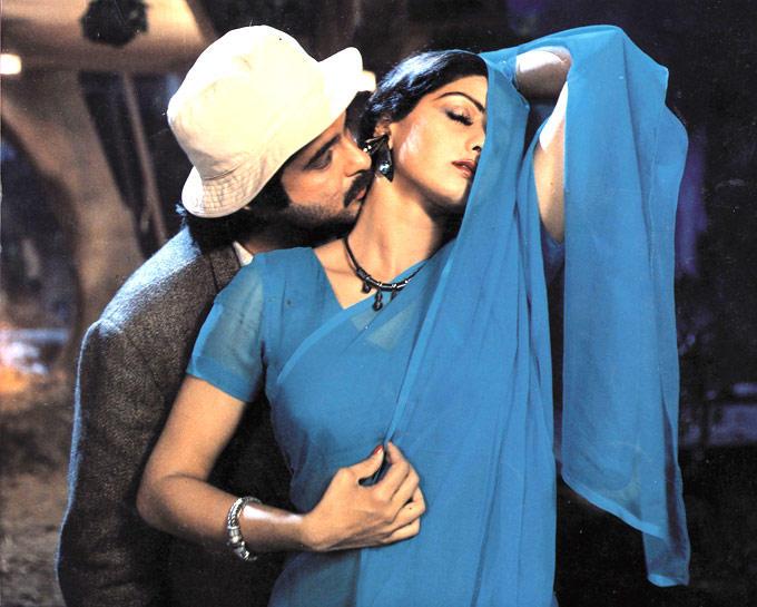Anil Kapoor And Sridevi Kapoor Romantic Hot Scene From Mr. India
