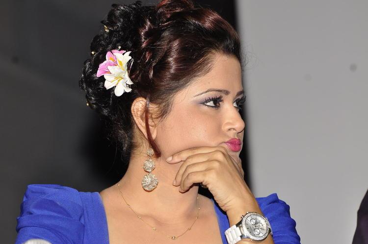 South Actress Gorgeous Still At Memiddaram Preminchukunnam Movie Audio Launch