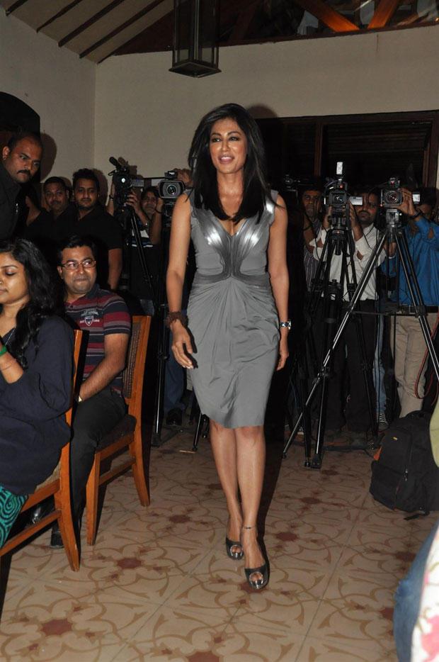 Chitrangada Walks On At The Launch Of Inkaar Calendar