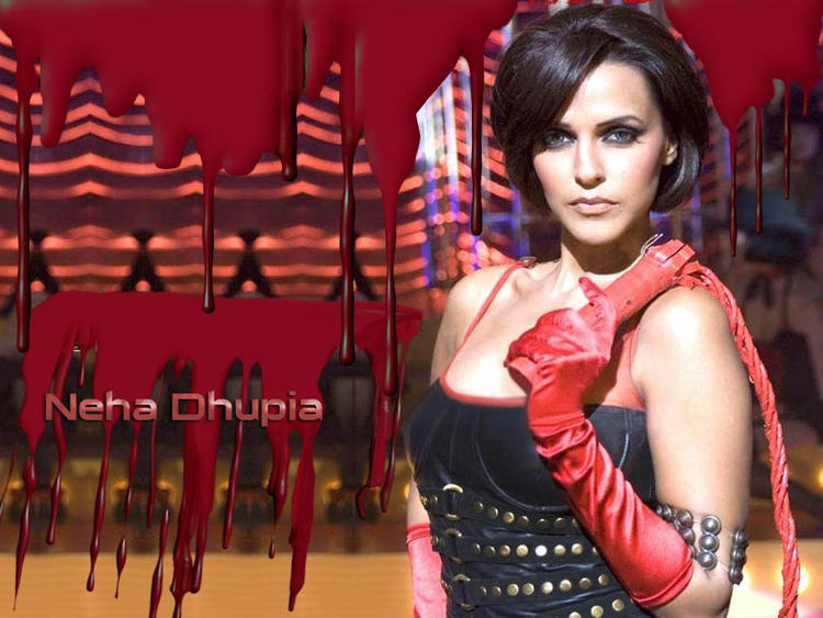 Neha Dhupia Short Hair Hot Wallpaper
