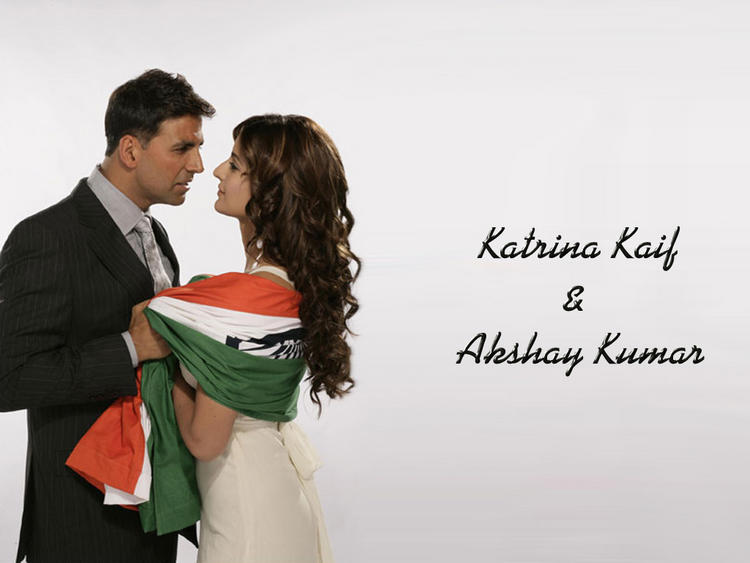 Katrina Kaif Hot with Akshay Kumar