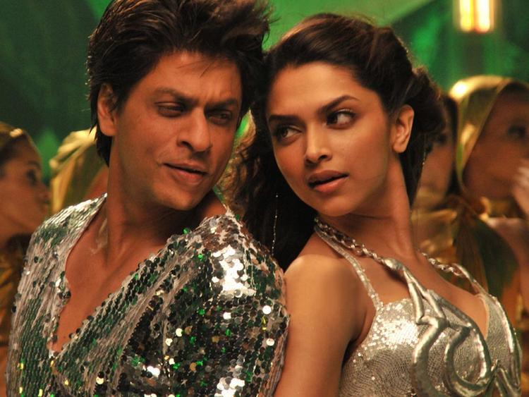 Deepika Padukone and Shahrukh Khan Glamour Still