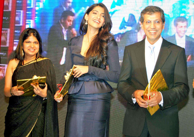 Sonam Kapoor Launches BBC Knowledge Magazine