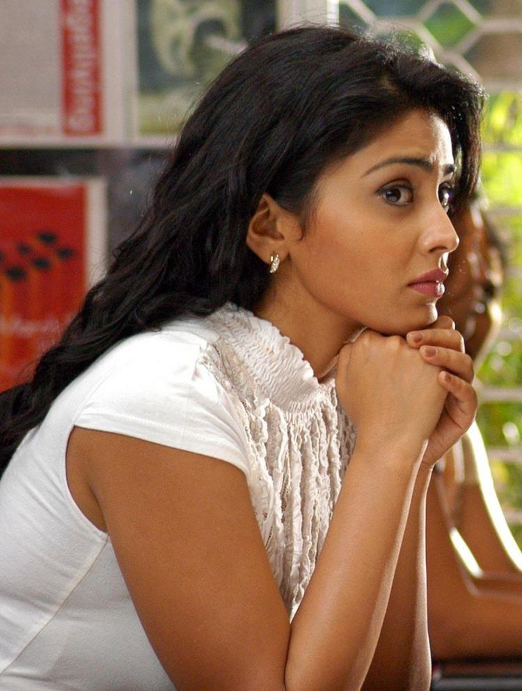 Shriya Saran Cute Face Still