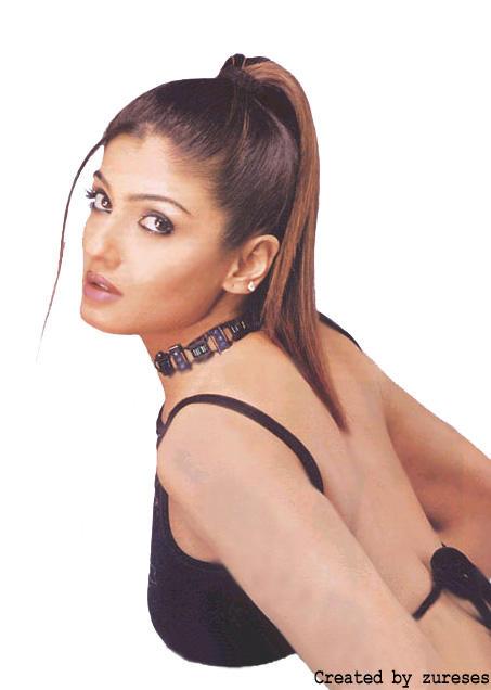Raveena Tandon Sexy Bacl Bare Still